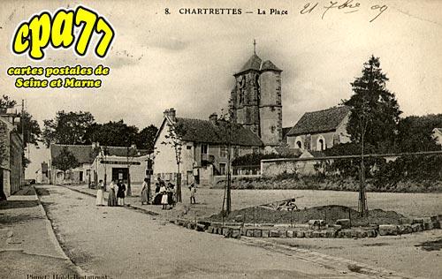 Chartrettes - La Place
