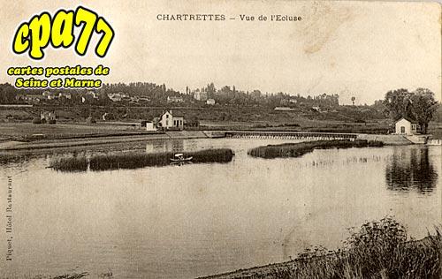 Chartrettes - Vue de l'Ecluse