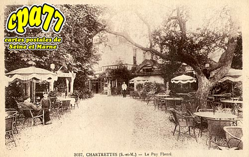Chartrettes - Le Puy Fleuri