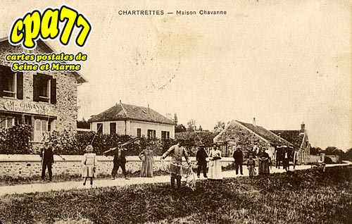 Chartrettes - Maison Chavanne