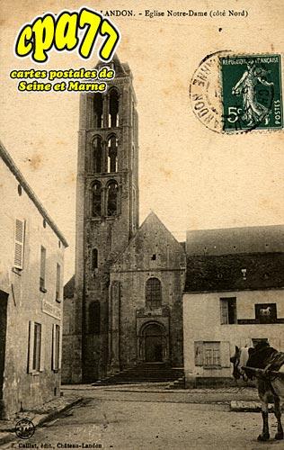 Château Landon - Eglise Notre-Dame
