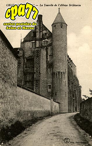 Château Landon - La Tourelle de l'Abbaye St-Séverin