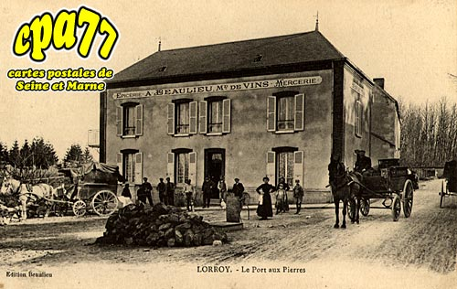 Château Landon - LORROY - Le Port aux Pierres