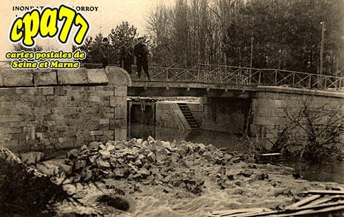Château Landon - LORROY - Le Pont du Loing détruit