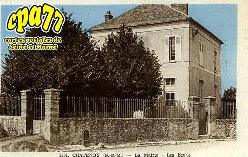 Châtenoy - La Mairie - Les Ecoles