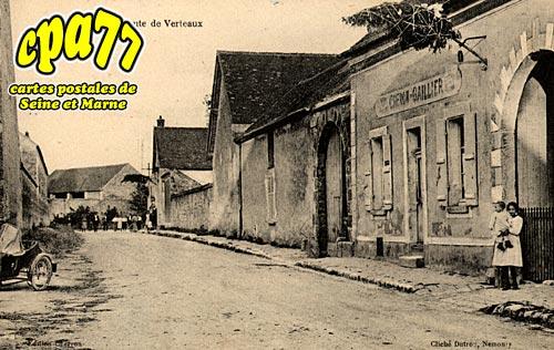Châtenoy - Route de Verteaux