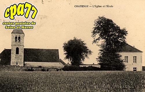 Châtenoy - L'Eglise et l'Ecole