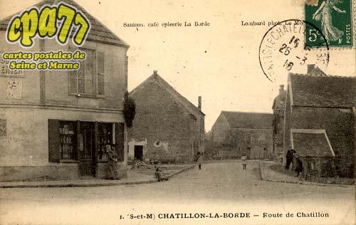 Châtillon La Borde - Route de Châtillon