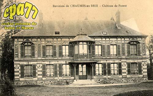 Chaumes En Brie - Environs de Chaumes-en-Brie - Château de Forest