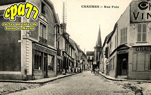 Chaumes En Brie - Rue Foix