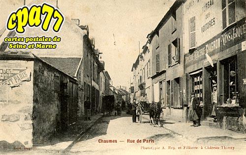 Chaumes En Brie - Rue de Paris