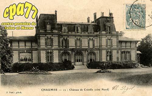 Chaumes En Brie - Château de Crénille (côté Nord)