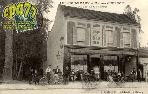 Chelles - Les Coudreaux - Maison Guesnon - Route de Coubron