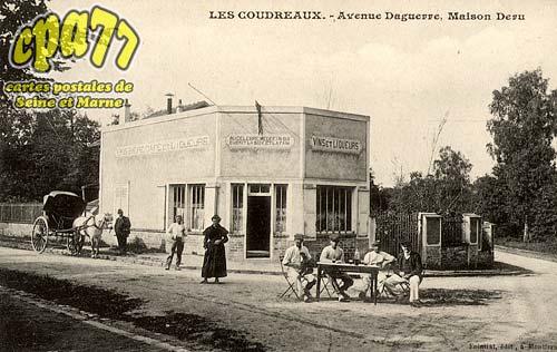 Chelles - Les Coudreaux - Avenue Daguerre, Maison Deru