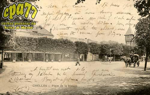 Chelles - Place de la Station