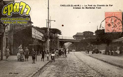 Chelles - Le Pontdu Chemin de fer - Avenue du Maréchal Foch