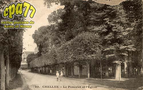 Chelles - Le Poncelet et l'Eglise