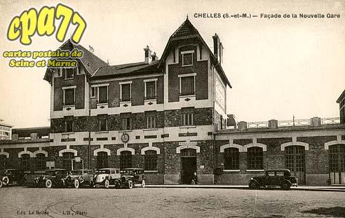 Chelles - Façade de la Nouvelle Gare