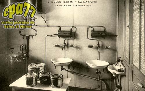 Chelles - La Nativité - La salle de stérilisation
