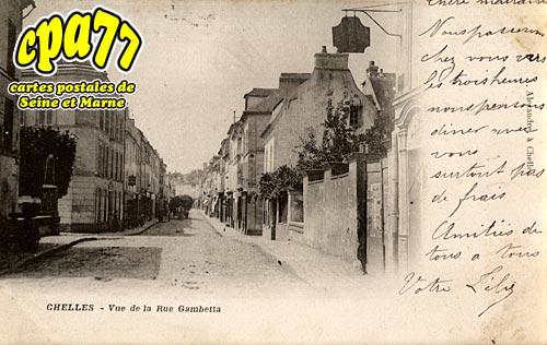 Chelles - Vue de la Rue Gambetta