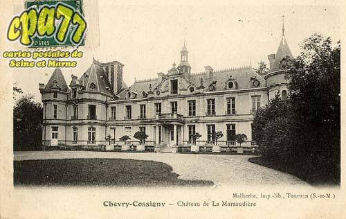 Chevry Cossigny - Château de la Marsaudière