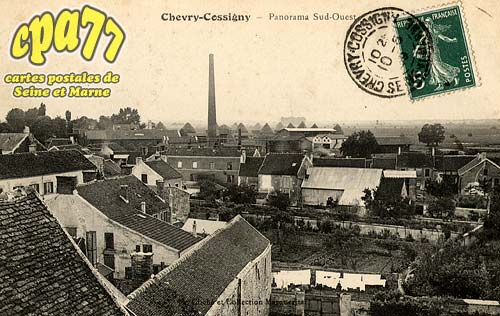 Chevry Cossigny - Panorama Sud-Ouest