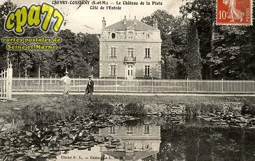 Chevry Cossigny - Le Château de la Plata - Côté de l'Entrée