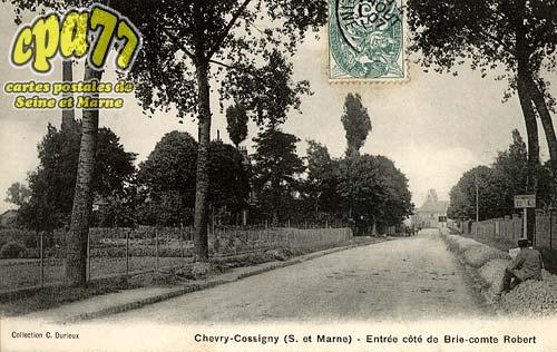 Chevry Cossigny - Entrée côté de Brie-Comte-Robert