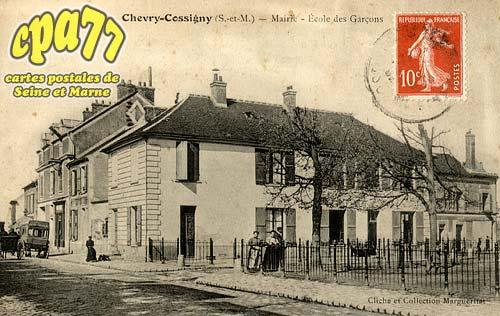 Chevry Cossigny - Mairie - Ecole des Garçons