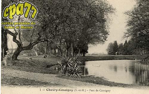 Chevry Cossigny - Parc de Cossigny