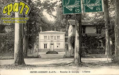 Chevry Cossigny - Domaine de Cossigny - L'Entrée