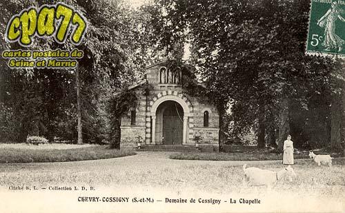 Chevry Cossigny - Domaine De Cossigny - La Chapelle