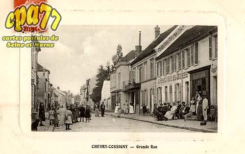 Chevry Cossigny - Rue de l'abreuvoir