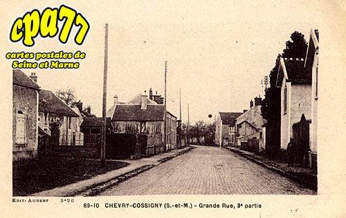 Chevry Cossigny - Grande, 3e partie