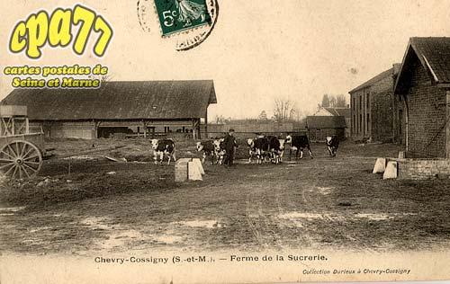 Chevry Cossigny - Ferme de la Sucrerie