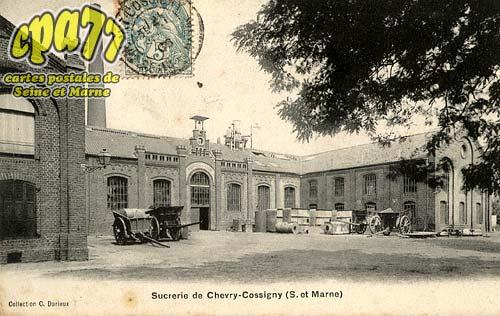 Chevry Cossigny - Sucrerie de Chevry-Cossigny