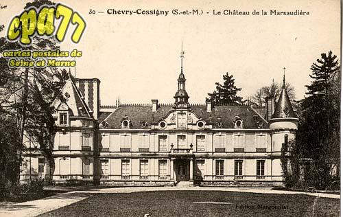 Chevry Cossigny - Le Château de la Marsaudière