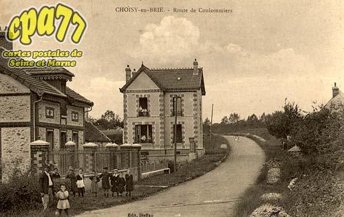 Choisy En Brie - Route de Coulommiers