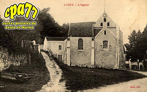 Citry - L'Eglise