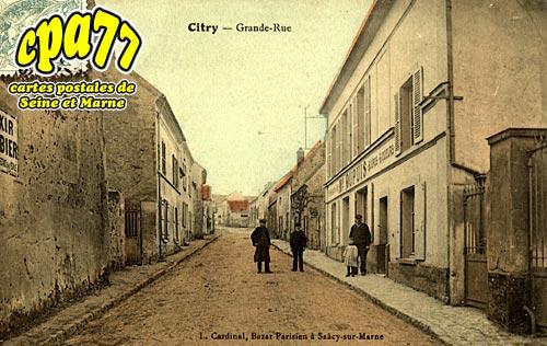 Citry - Grande Rue