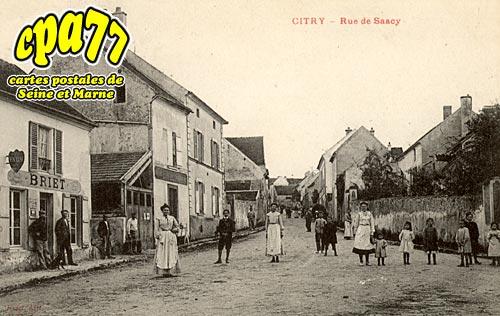 Citry - Rue de Saacy