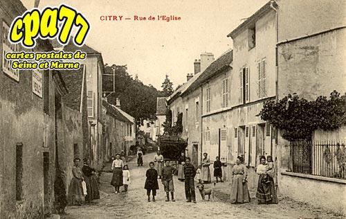 Citry - Rue de l'Eglise