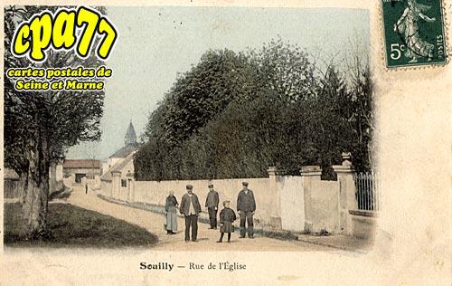Claye Souilly - Rue de l'Eglise