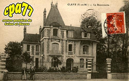 Claye Souilly - La Beuvronette