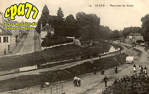 Claye Souilly - Claye - Panorama du Canal