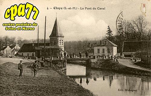 Claye Souilly - Le Pont du Canal