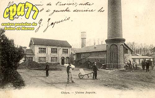 Claye Souilly - Usine Japuis