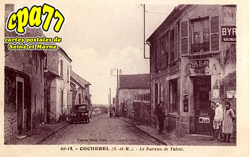 Cocherel - Le Bureau de Tabac