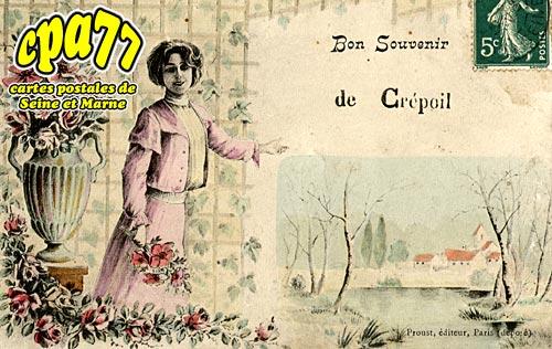 Cocherel - Bon souvenir de Crépoil