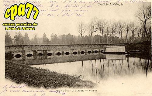 Condé Ste Libiaire - Viaduc